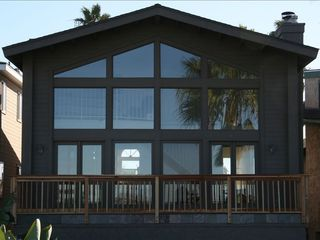 Ocean Beach house photo - Newly remodeled 2nd story balcony w amazing views