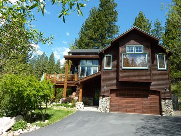 Donner Lake house rental - Front View