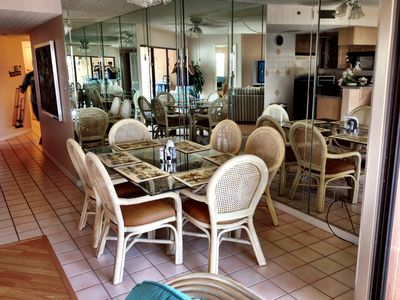 Indian Shores condo rental - Dining area