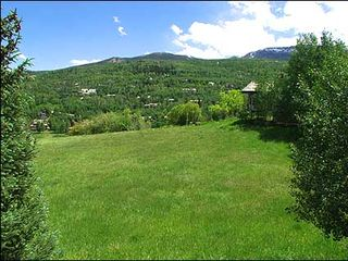Snowmass Village house photo - View with open space in back yard
