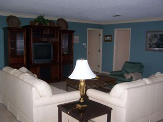 Gulf Shores house photo - What a beautiful living room for you and your family!