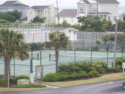 Atlantic Beach condo rental - Tennis, Shuffleboard, Game Room, Convenience Store, Two Hot Tubs