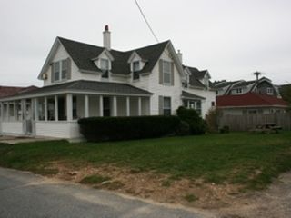 Falmouth house photo - The house over looks the Heights Beach & is a walk across the st to the ocean.