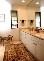 Wailea townhome photo - Master Bathroom
