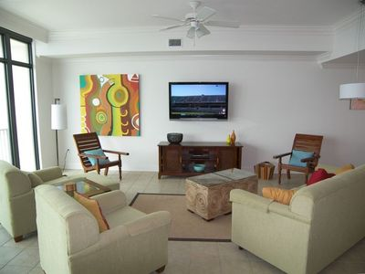 Comtemporary furnishings and upscale decor will provide for an enjoyable stay.
