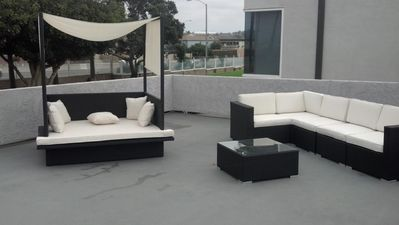 Modern Patio area
