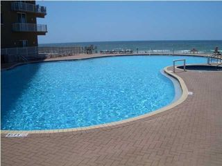 Tidewater Beach Resort condo photo - One of two huge lagoon pools with jacuzzi