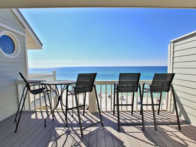 Fantastic Beach & Gulf Views from the Balcony of Mistral in Seagrove Beach, FL