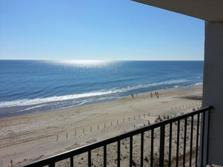 Vacation Homes in Ocean City condo photo - View to south of beach