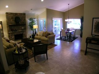 Westlake Village house photo - Living Room with Fireplace