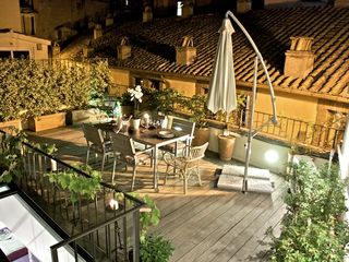 Colosseum area apartment photo - CS_Terrace by night