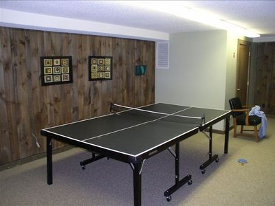 Ping pong for the kids at Stonybrook Clubhouse; also a small exersize room here.