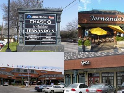 Nearby restaurants and shopping at Midway and Northwest Hwy