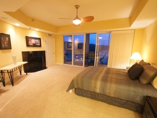 Osage Beach condo photo - 1 of 3 Queen Master Suites w/ Gas Fireplace, and access to the Screened-In Deck