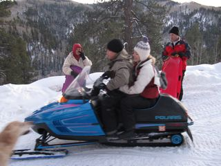 Dolores house photo - Snowmobiling is popular and many trails can be found in the local area.