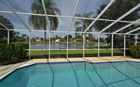 Beautiful lake front home with Pool in close distance to Siesta Key