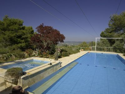 Zichron Yaakov apartment rental - The 100 SQM Pool is yours in privacy