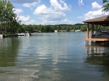 Hot Springs Village townhome rental - LAKE DESOTO VIEW FROM OUR BOAT DOCK