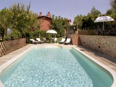 Villa Nuba  holiday rentals in Perugia - Umbria - Italy - The  new swimming pool