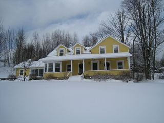 Roscoe farmhouse photo - The house in December