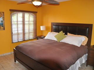 Aruba condo photo - large Bedroom with king size bed and TV and seperate air conditioning