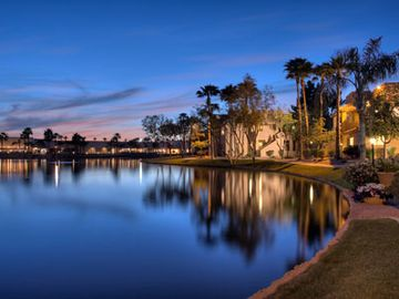 Chandler condo rental - Peaceful Lake and Beautiful Landscaping just a few feet away