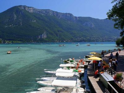 Magnificent Lake Annecy is less than 25 mins
