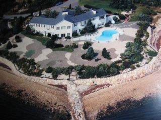 Pocasset house photo - Aerial Photo