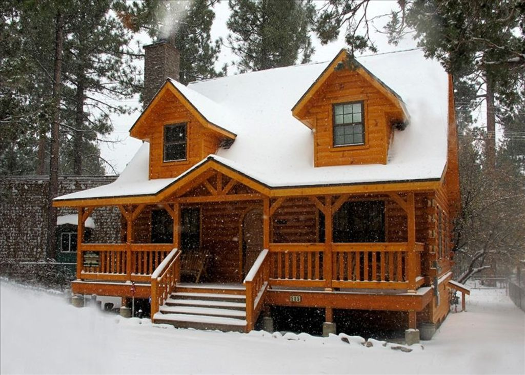 Warm cozy luxurious big bear holiday cabin vrbo for Big bear cabins california