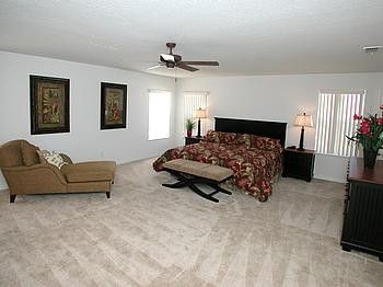 Extremely Spacious Master Suite