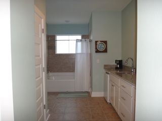 Mexico Beach house photo - Master Bath with mini bar