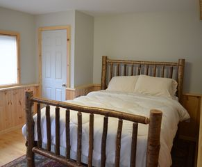 Lake Placid chalet photo - Guest Bedroom with Queen Bed