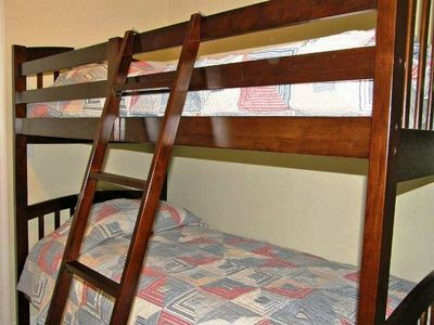 Hallway bunks for the kids.