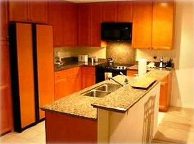 Waikoloa Beach Resort condo rental - State of the art kitchen w/toaster, coffee maker, can opener, rice cooker, etc.