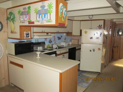 Vacation Homes in Ocean City townhome rental - From Living Room into Kitchen