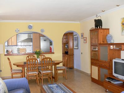 Port d'Alcudia house rental - lounge and dining area