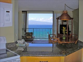 Lahaina condo photo - Enjoy the Ocean View while preparing your meal