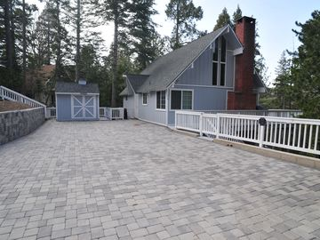Lake Arrowhead house rental - Entry Level with Bed, Bath, Kitchen, Dining, Living Rms on main level