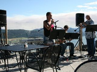 Kelowna house photo - Jazz concert at The Rise Golf Course, good food and an enjoyable venue.