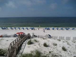 Fort Walton Beach condo photo - Island Princess 408- Calm Sea today. A Beach set up is saved for YOU