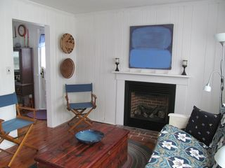 Wellfleet cottage photo - Living room....