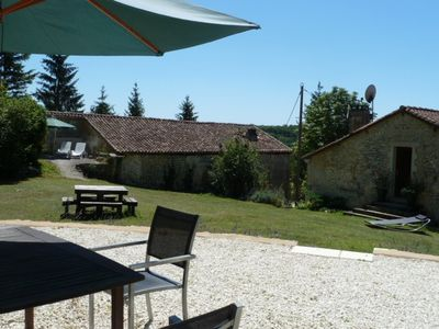 4 Gites Dordogne/Charente border family orientated, pool, gym,Fishing Lake