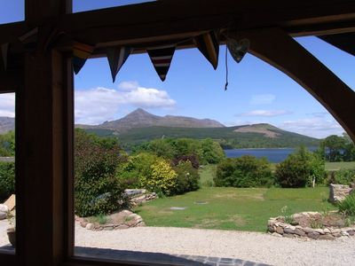 Arran, Brodick, 5 bedroom 5 bathroom cottage with sea and mountain views.