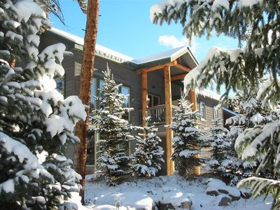 Breckenridge lodge rental - Blue River Lodge on Broken Lance Drive overlooking the Blue River