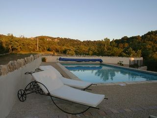 Venasque estate photo - Beach chairs by the 12 x 6m pool