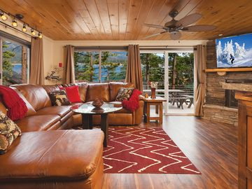 Ironwood Estates cabin rental - Stunning In So Many Ways… 'Great Room' Living with Extraordinary Lake Views!