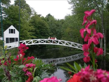 Nearby, Somesville, Me. Most photographed bridge in the states.