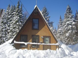 A Perfect Winter Day @ the A-Frame - Pittsburg house vacation rental photo