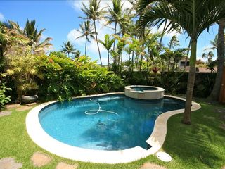 Kailua house photo - Private Pool & Jacuzzi