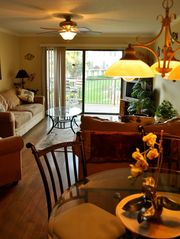 Dinning Area and Living Room - Crescent Beach condo vacation rental photo